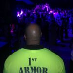1st Armor provides security for over 800 teens at an event in Wellesley